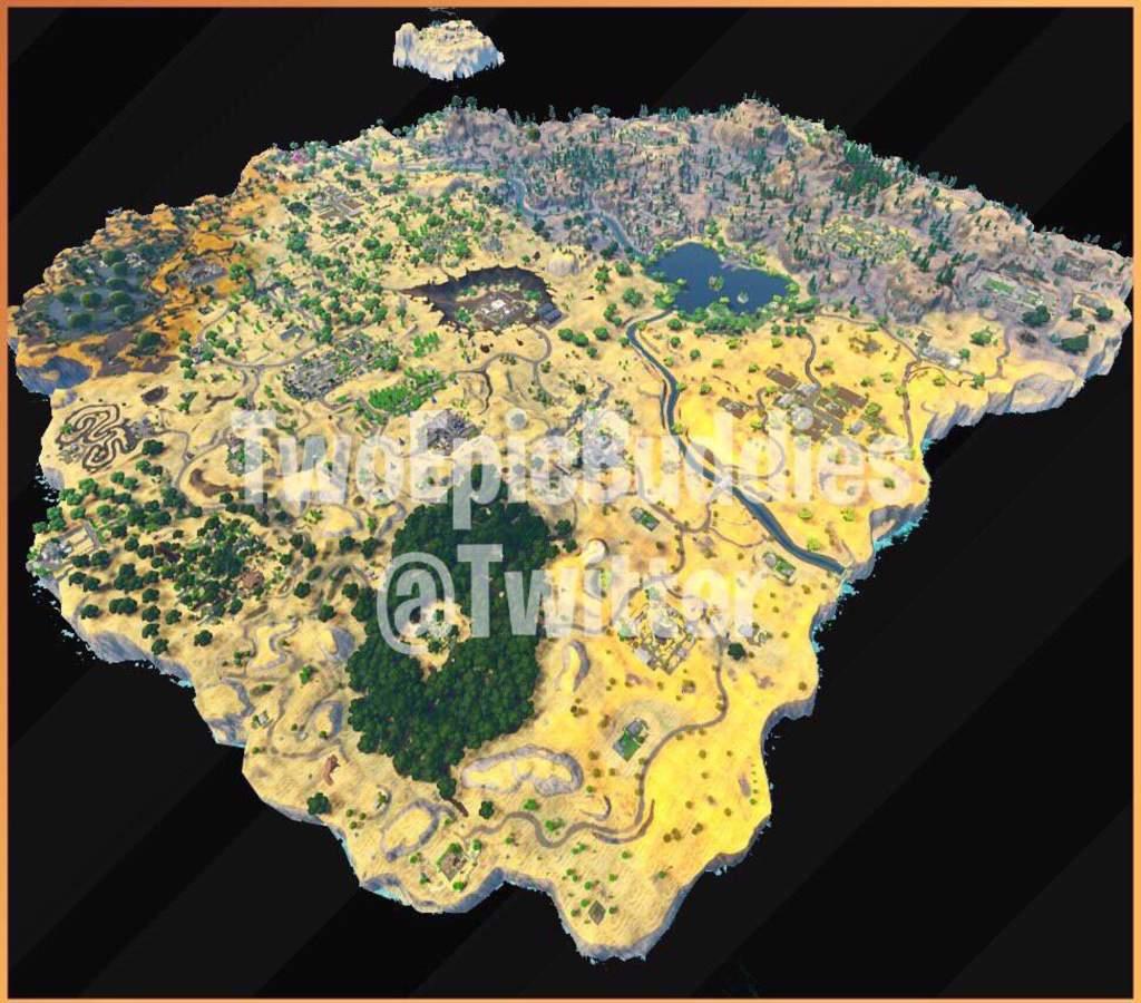 Season 5 Map Leaked Fortnite Battle Royale Armory Amino