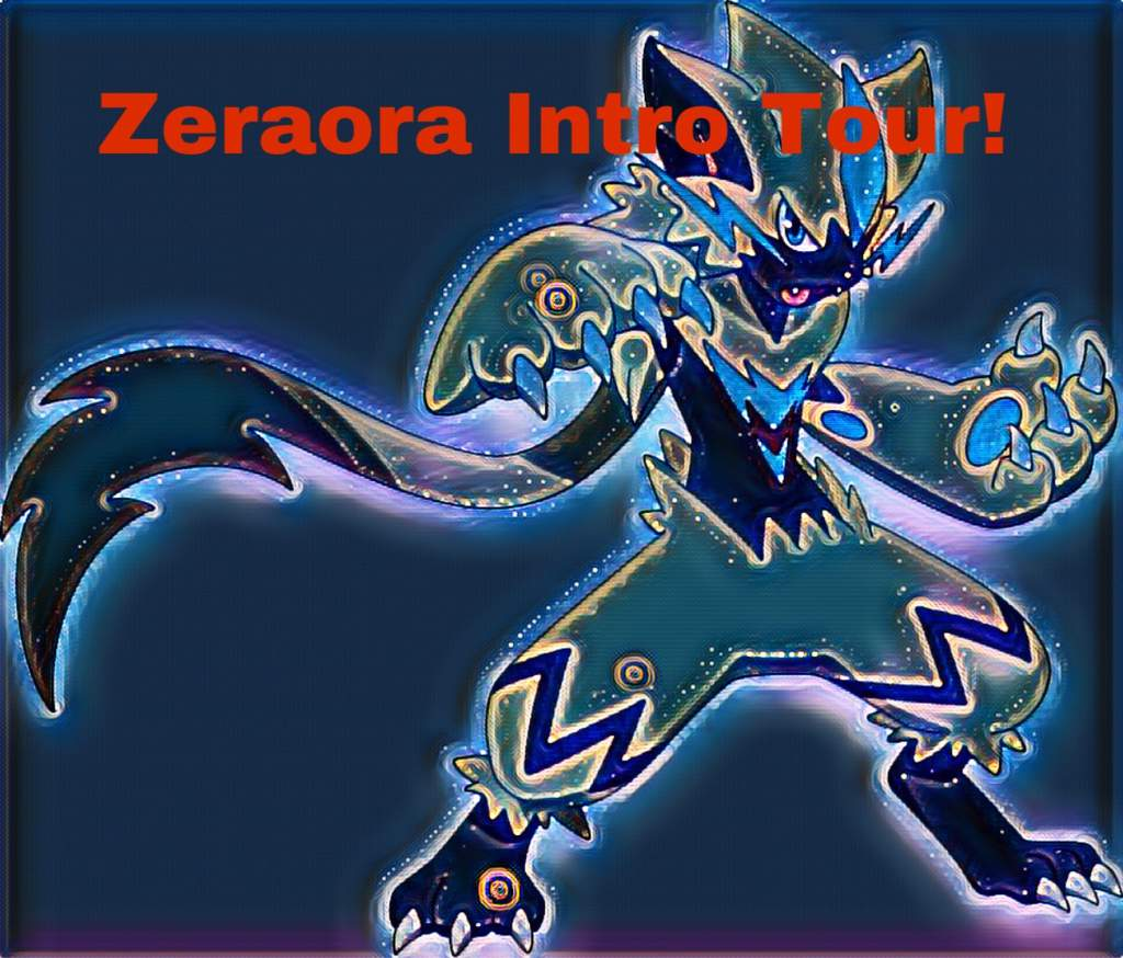 Zeraora Intro Tour Pokemon Amino Check out inspiring examples of zeraora artwork on deviantart, and get inspired by our community of talented artists. zeraora intro tour pokemon amino