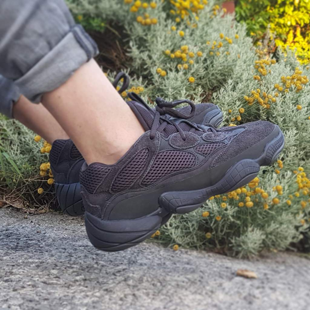new product c62a8 a9268 YEEZY 500 (Utility Black) #Clique | Sneakerheads Amino