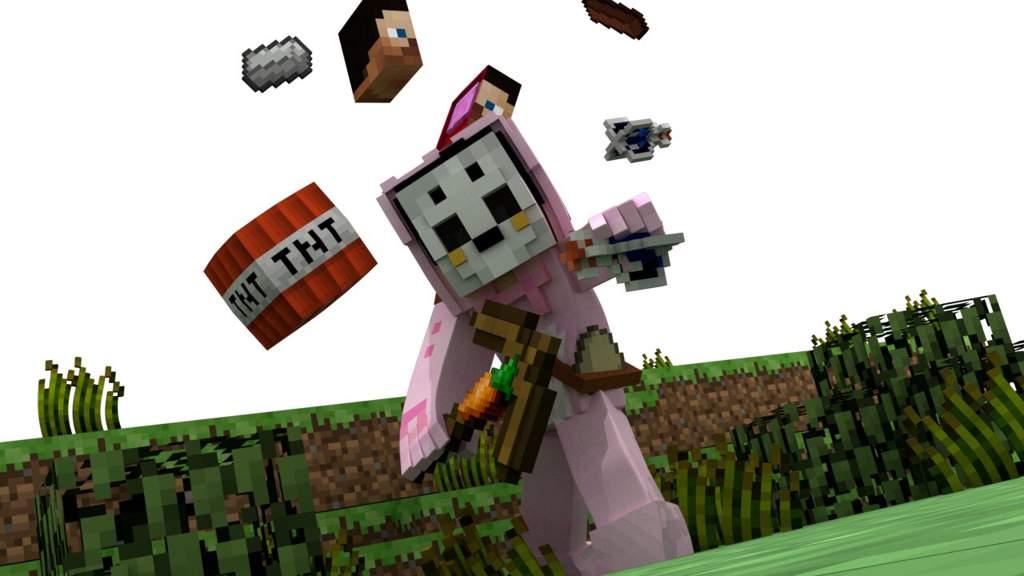 Minecraft Fortnite Wallpaper | Minecraft Amino