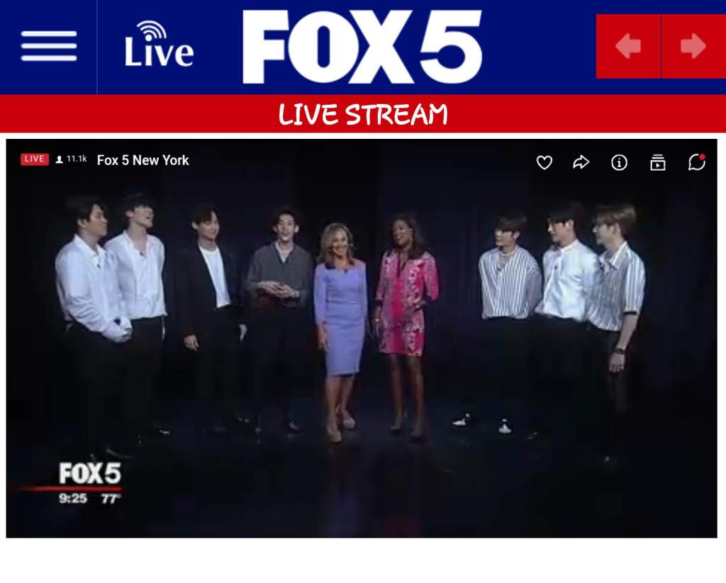 GOT7 @GOOD DAY NEW YORK  Thanks to FOX5 #GOT7@GOOD DAY NEW
