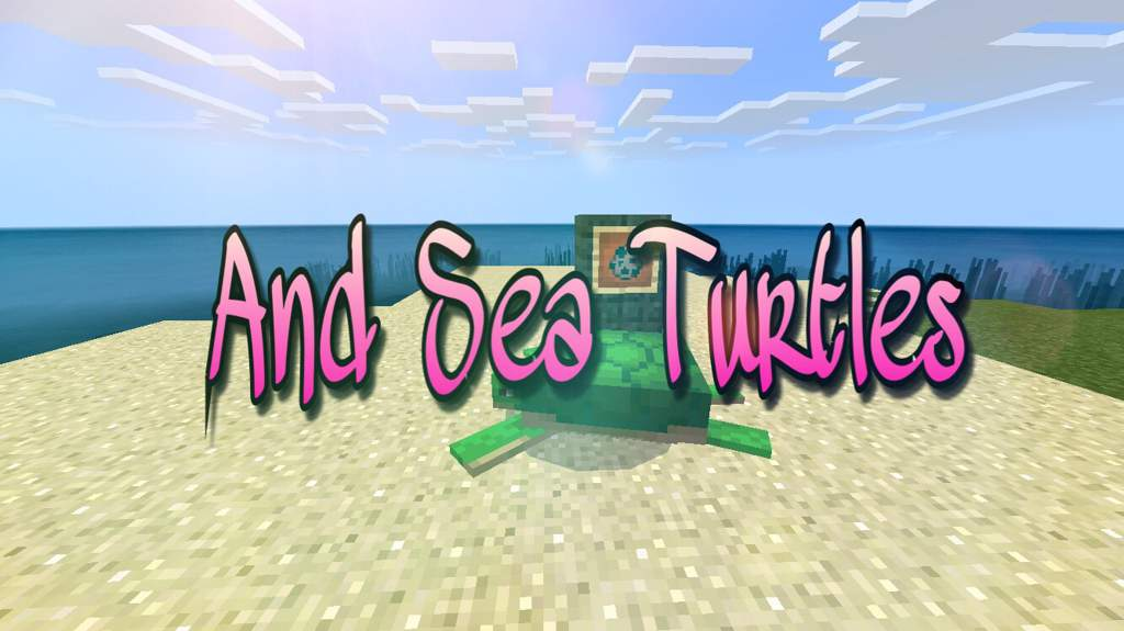 What's New In 1 5: Conduits And Sea Turtles | Minecraft Amino