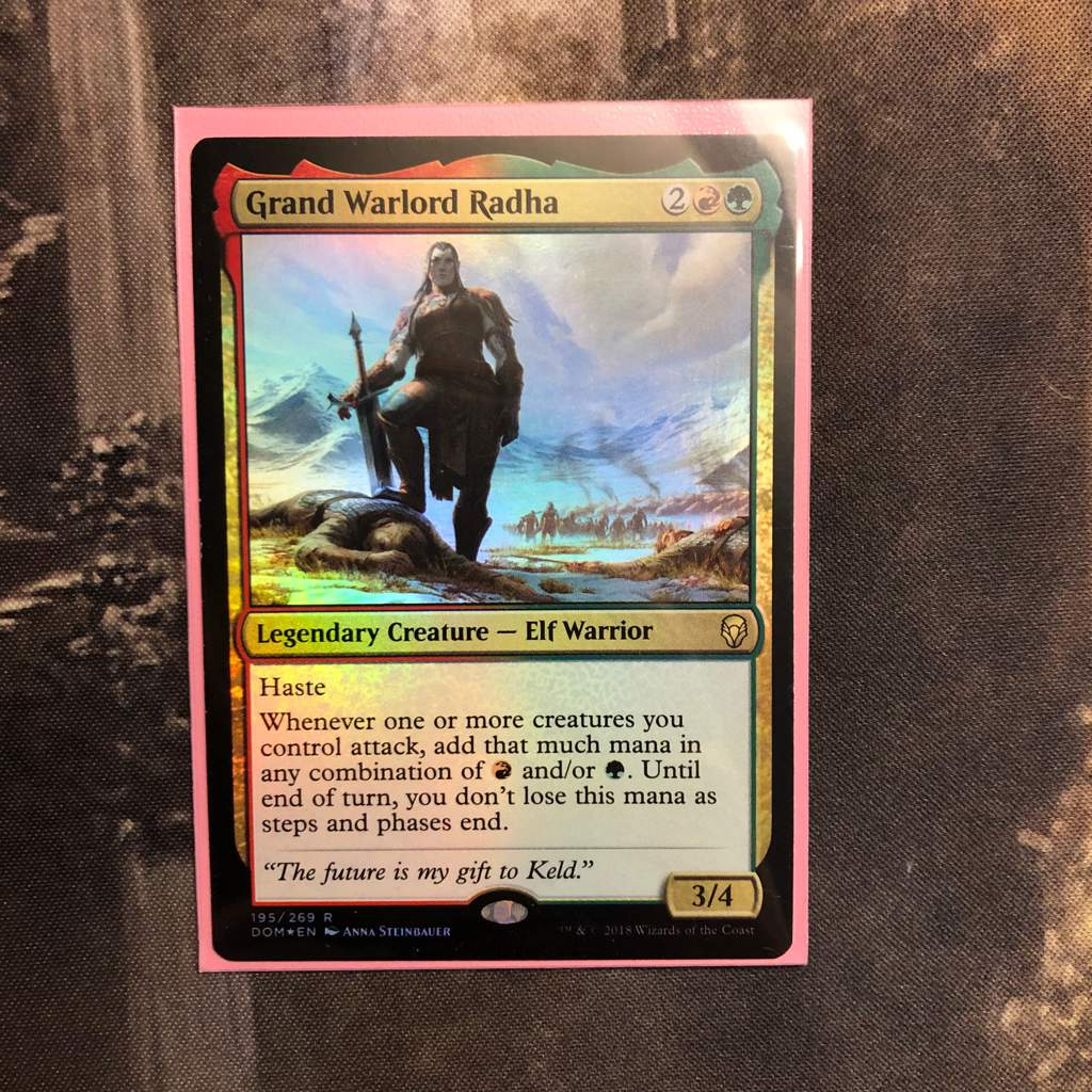 Grand Warlord Radha - Dominaria Rare 195//269