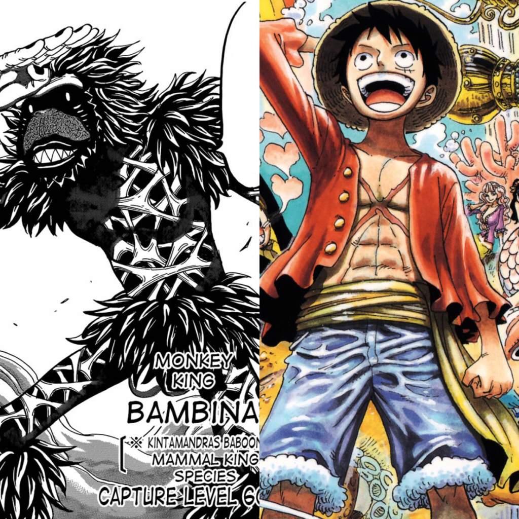 Who Would Win Monkey King Toriko Vs Monkey D Luffy One