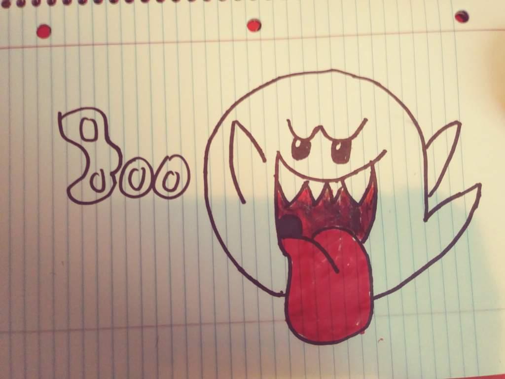 Mario Ghost Boo Fan Art Mario Amino