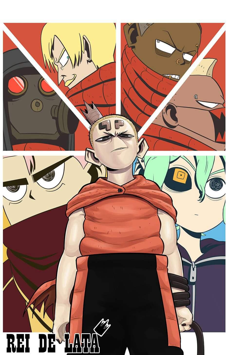 Rei de Lata - Capítulo 11: Primeira investida   Monart Translated Comics  Amino