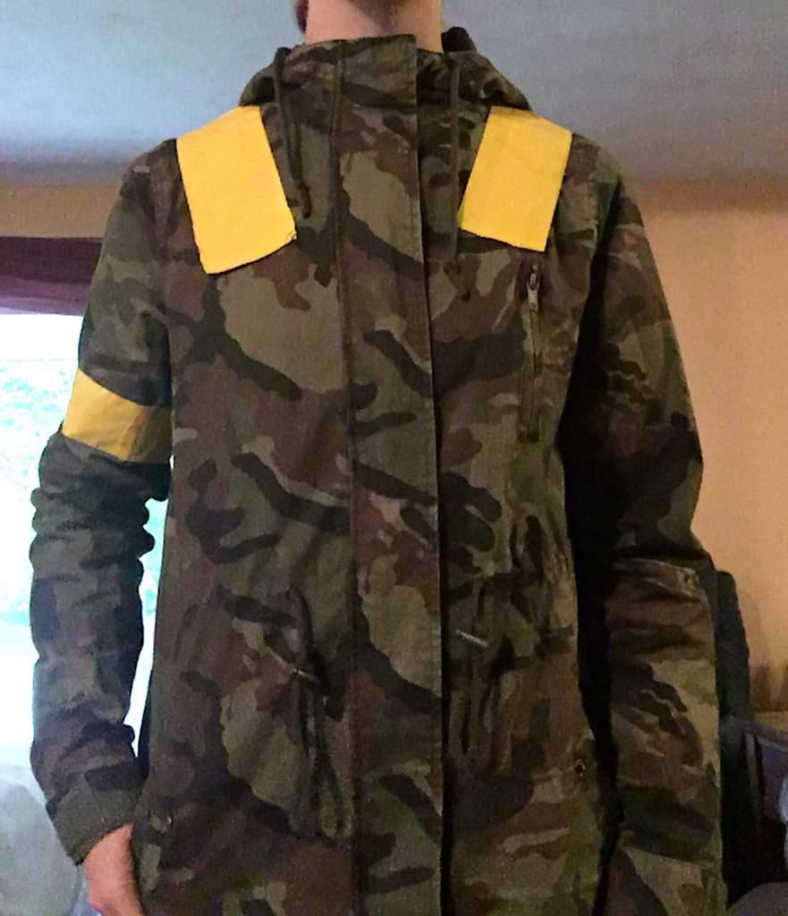 "99d18d5105a Custom made ""Jumpsuit"" Jacket 💛"