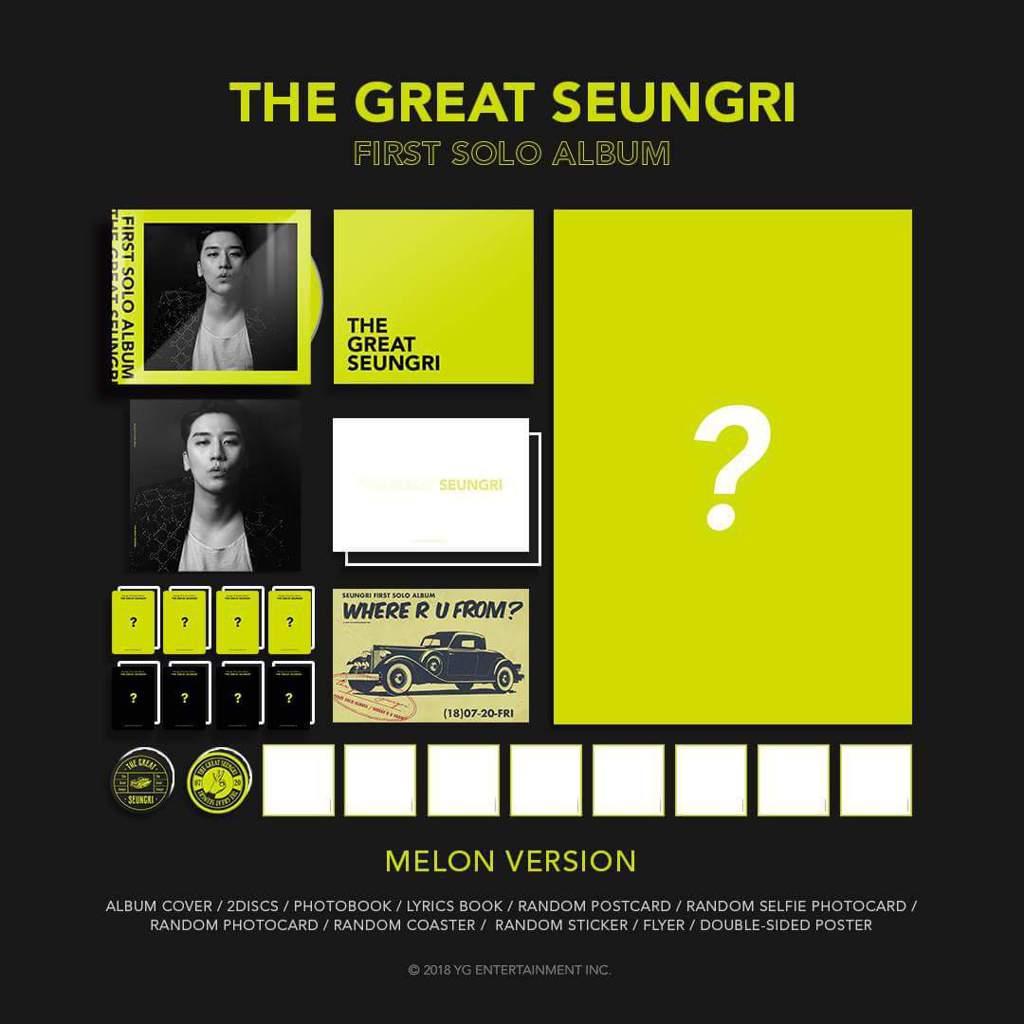 Image result for seungri 1st solo album album description