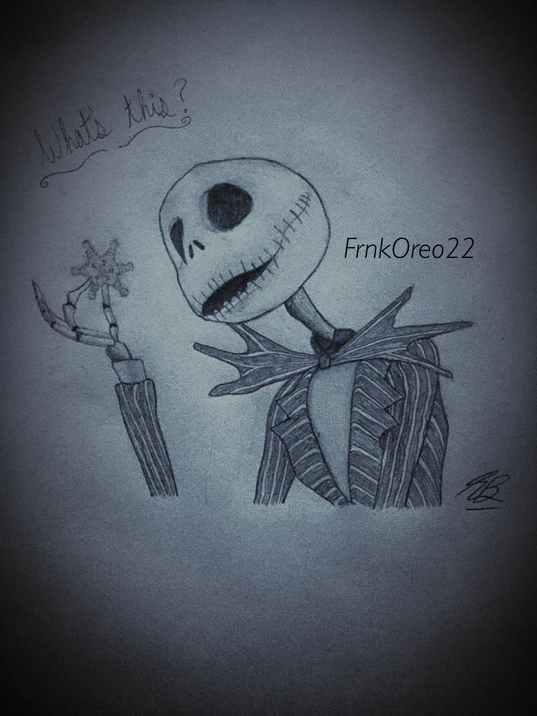 My Nightmare Before Christmas Fanart 🖤🖤 | CrankThatFrank Amino