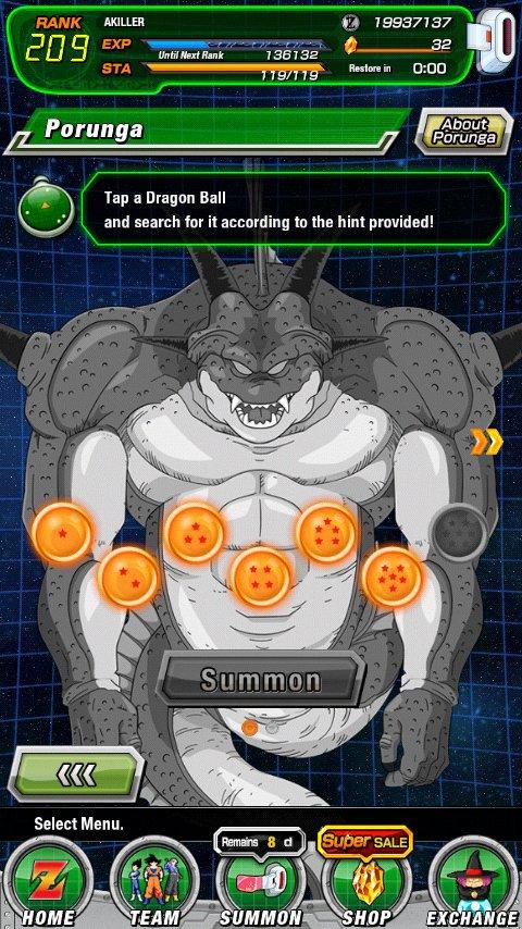 How To Get The First Porunga Dragon Ball