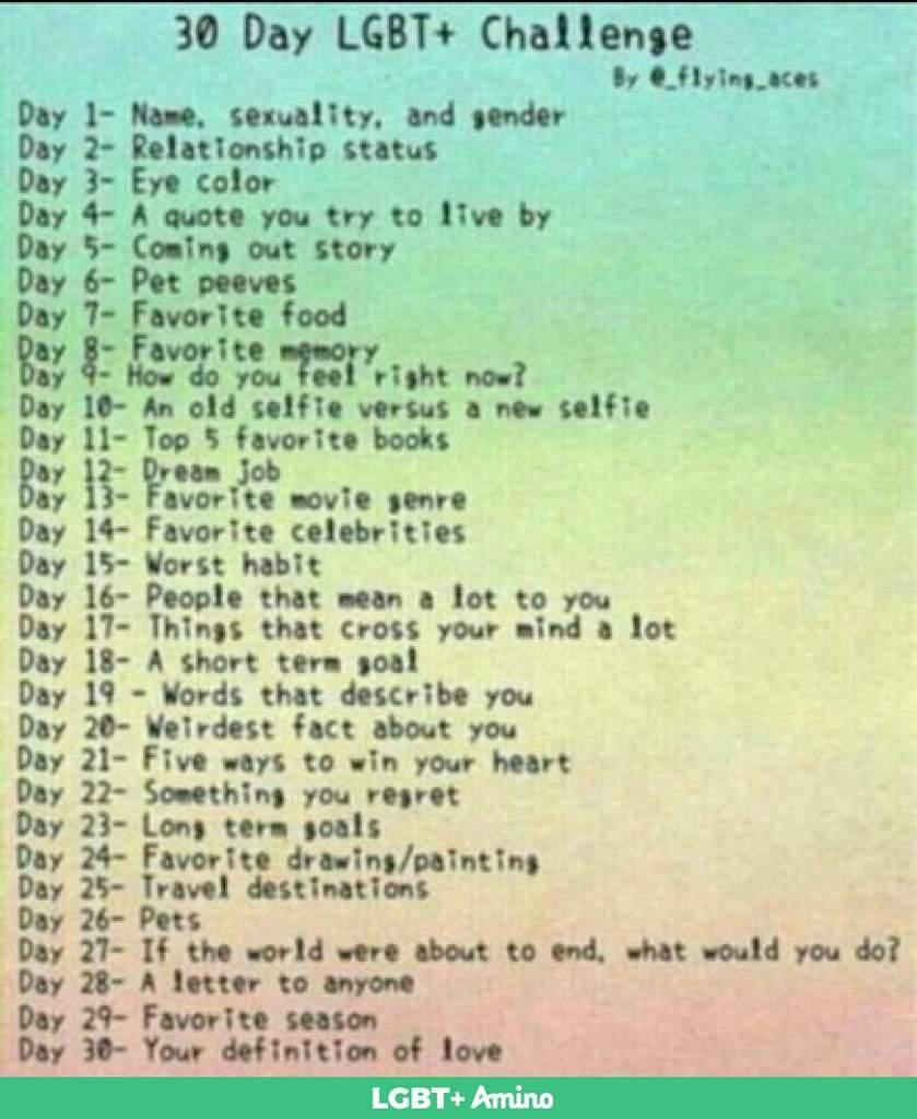 Lgbt Challenge Day 5 Lgbt Amino