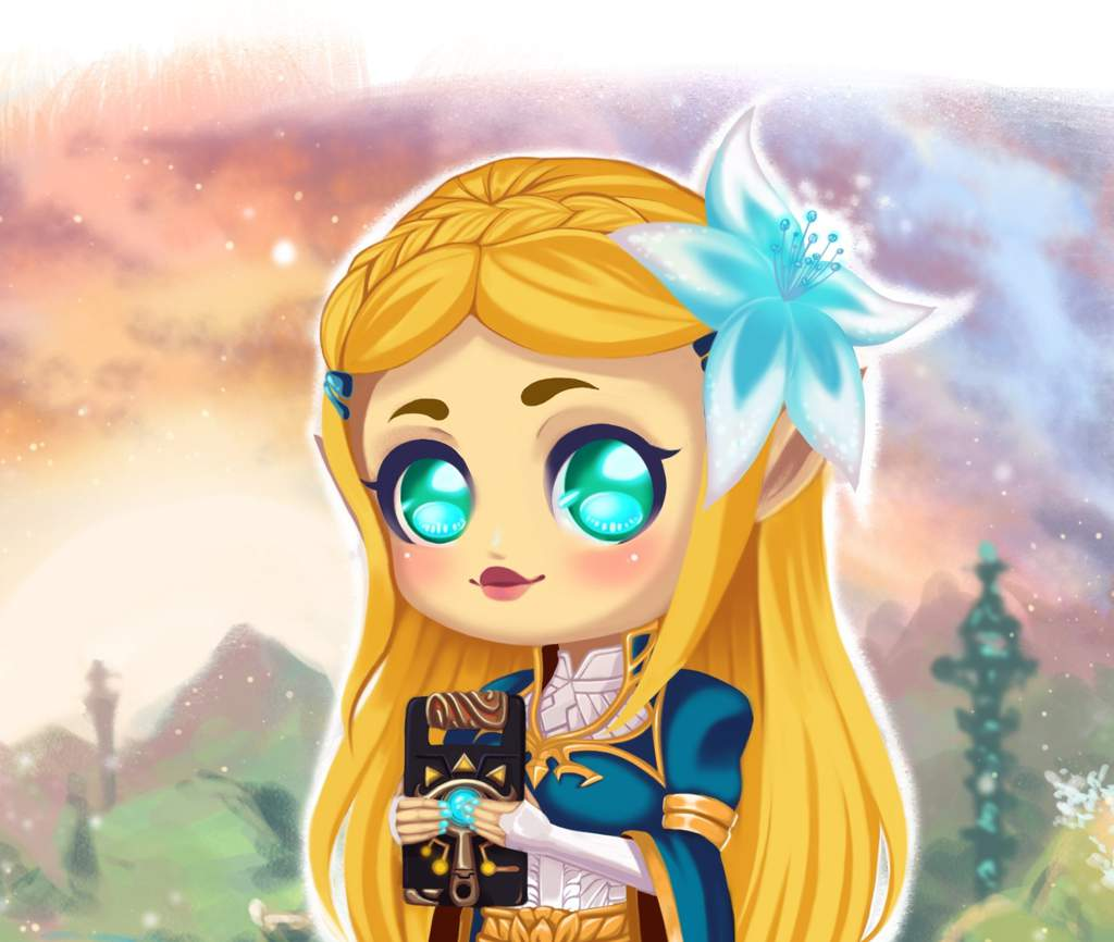 Fanart Princess Zelda Breath Of The Wild Nintendo Amino