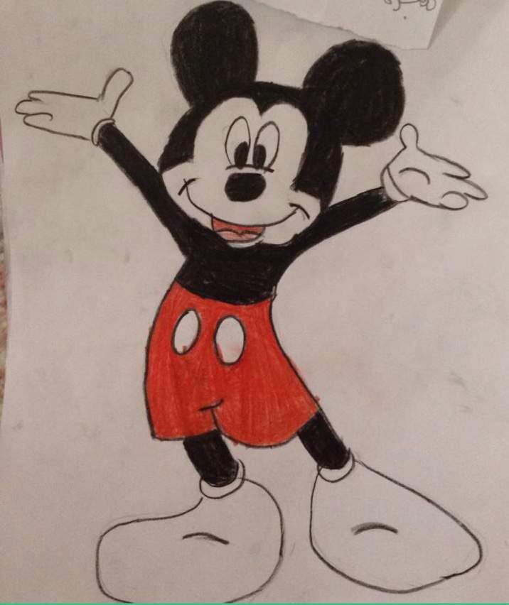 كيفية رسم ميكي ماوس مدينة الكرتون Amino