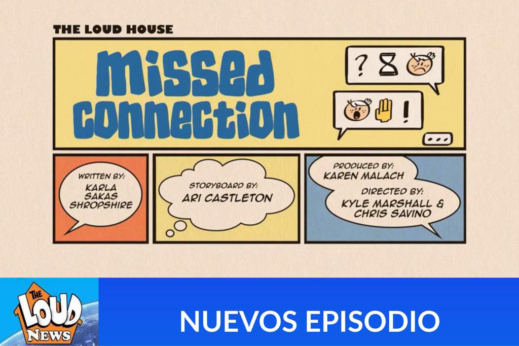 Loud house missed connection online | The Loud House S 3 E 9