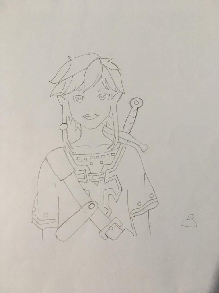 Dessin Link De Botw Zeldadraw ғr Amino