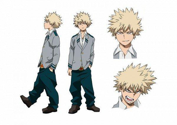 Katsuki Bakugo- Character Analysis | My Hero Academia Amino