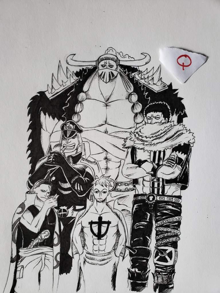 The Yonko commanders | One Piece Amino