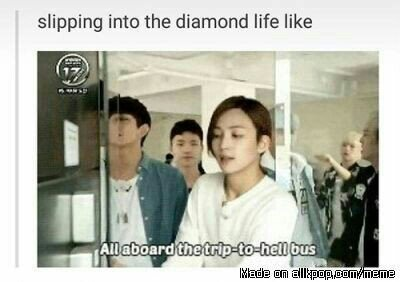 Seventeen Memes Because I Made My Friend Slip Into The Diamond Life