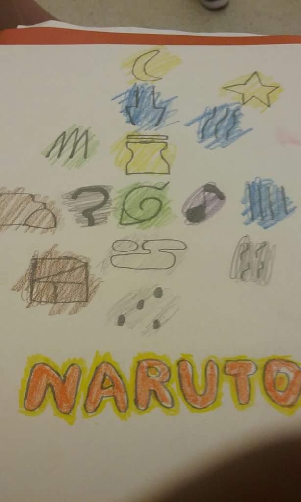 All Village Symbols Naruto Amino