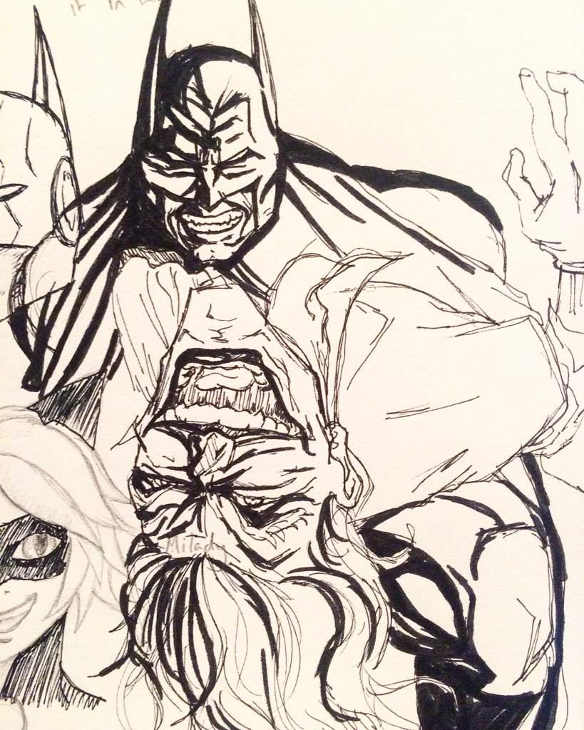 logan k harada on instagram some batman sketches i did while camping art sketch batman dccomics zenongirlofthe21stcentury joker comics