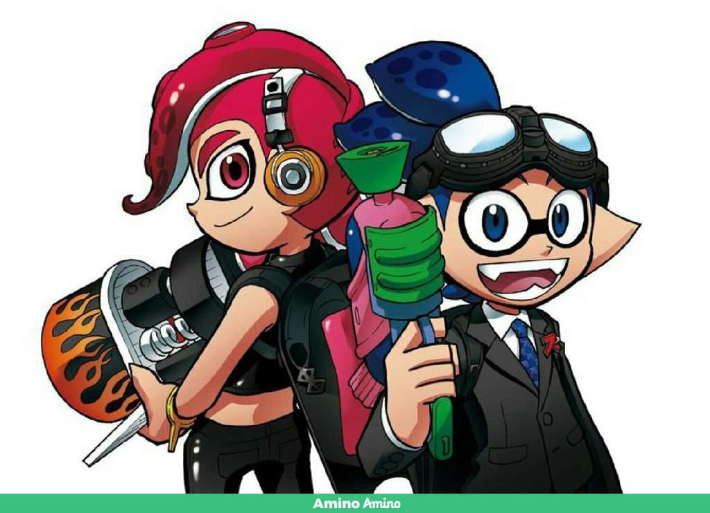 Dessin Du Manga Splatoon Splatoon Francais Amino