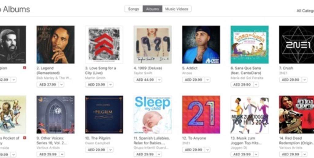 2NE1's 'Crush' and 'To Anyone' albums are currently charting at