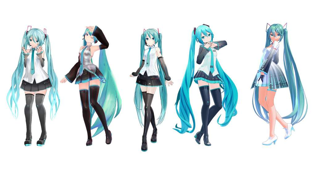 What's your favorite Miku model? | MMD Amino