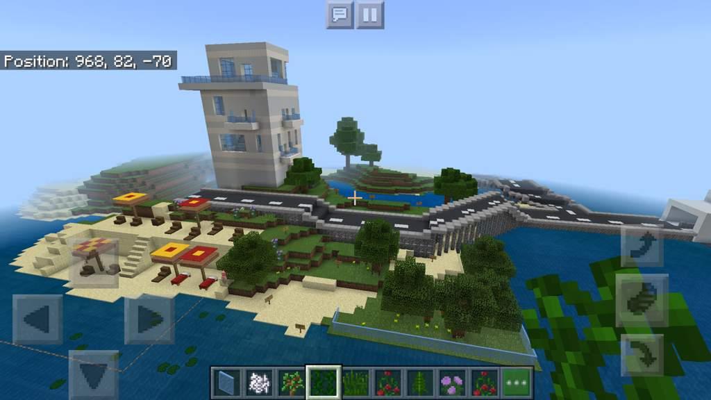 Island Hotel Gardens Roads Minecraft Amino