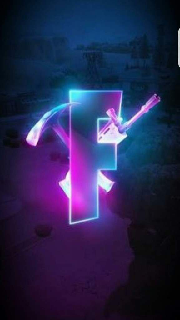 Found a dope pic of the F in FORTNITE   Fortnite: Battle ...