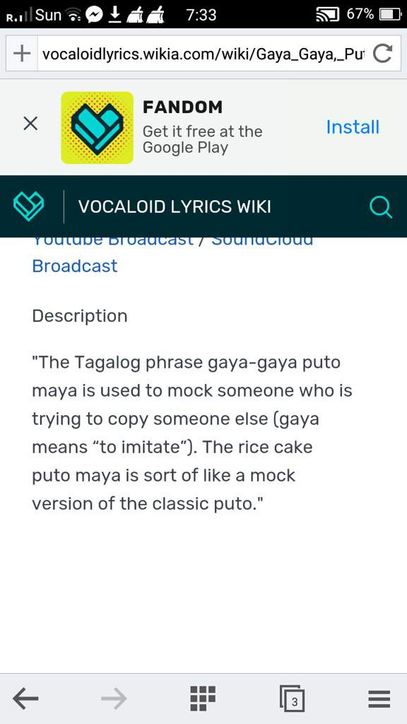 Mock meaning in tagalog