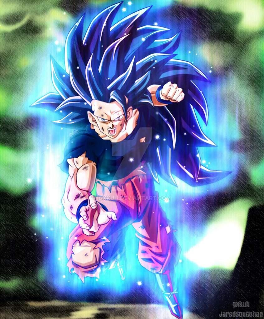 Cual Prefieren Goku Ultra Instinto Fase 3 O Goku Ssj Blu Fase 3