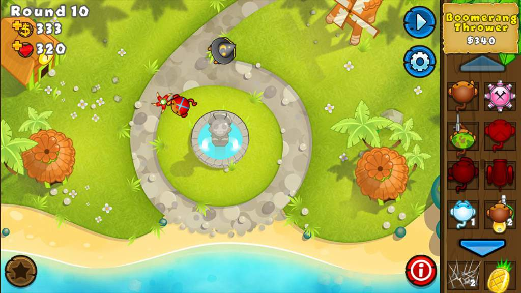 New Map For Btd5 Bloons Td 6 Amino