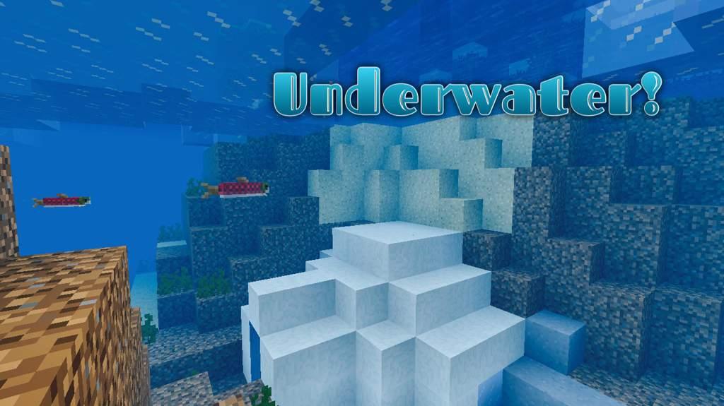 Underwater Igloo 343503504 Minecraft Amino