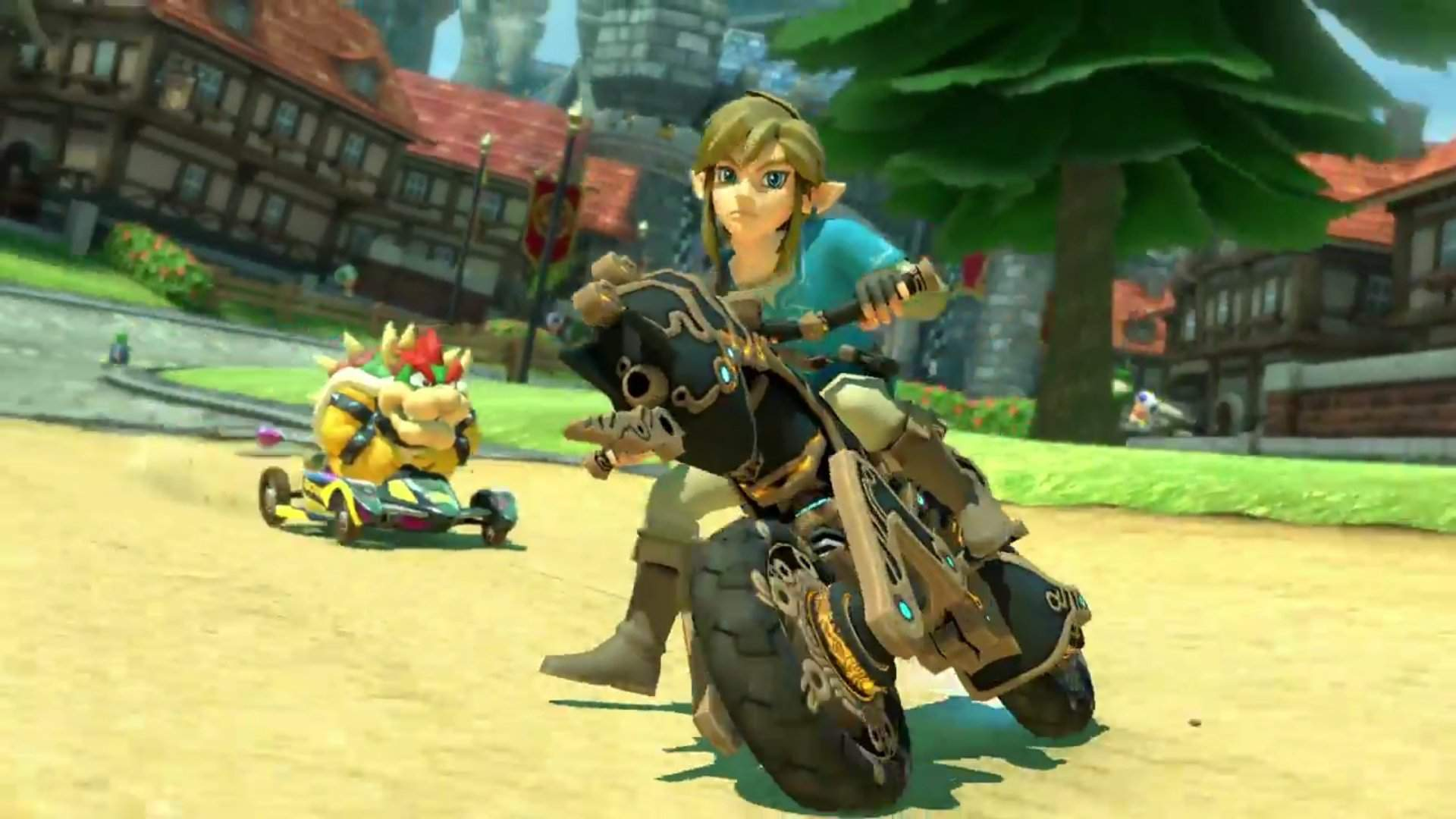 Mario Kart 8 Deluxe Gets Zelda Breath Of The Wild Content