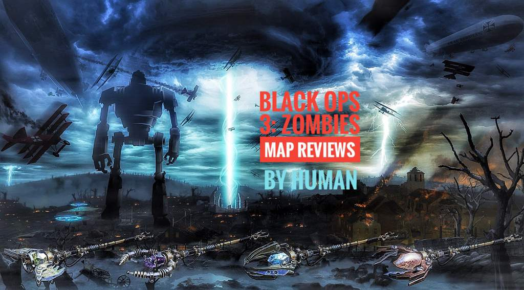 Black Ops 3: Zombies Map Reviews | Call Of Duty:Nazi Zombies