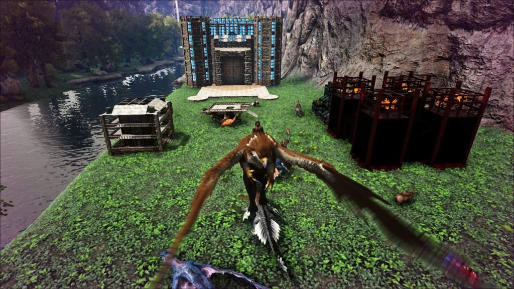 My Base ❤ | Ark Survival Evolved Amino