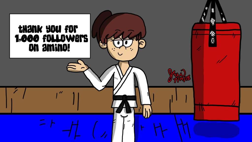 Karate Lynn (Thank You For 1,000 Followers!)   The Loud
