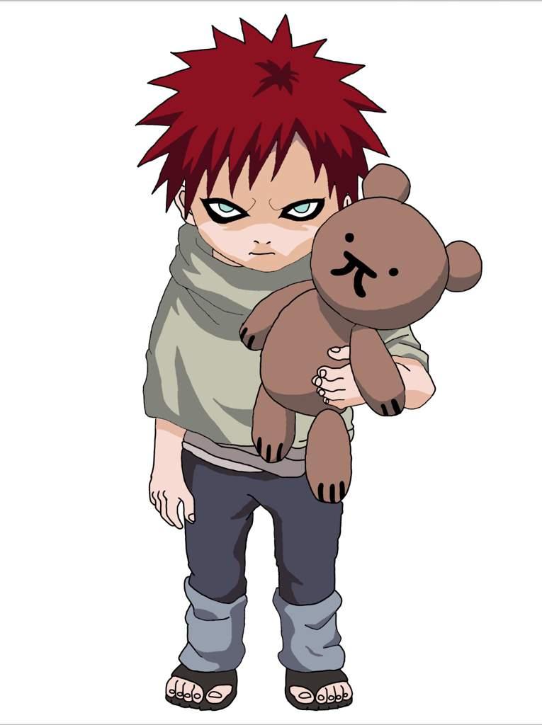Kid Gaara   Naruto Amino Gaara And Naruto Kids