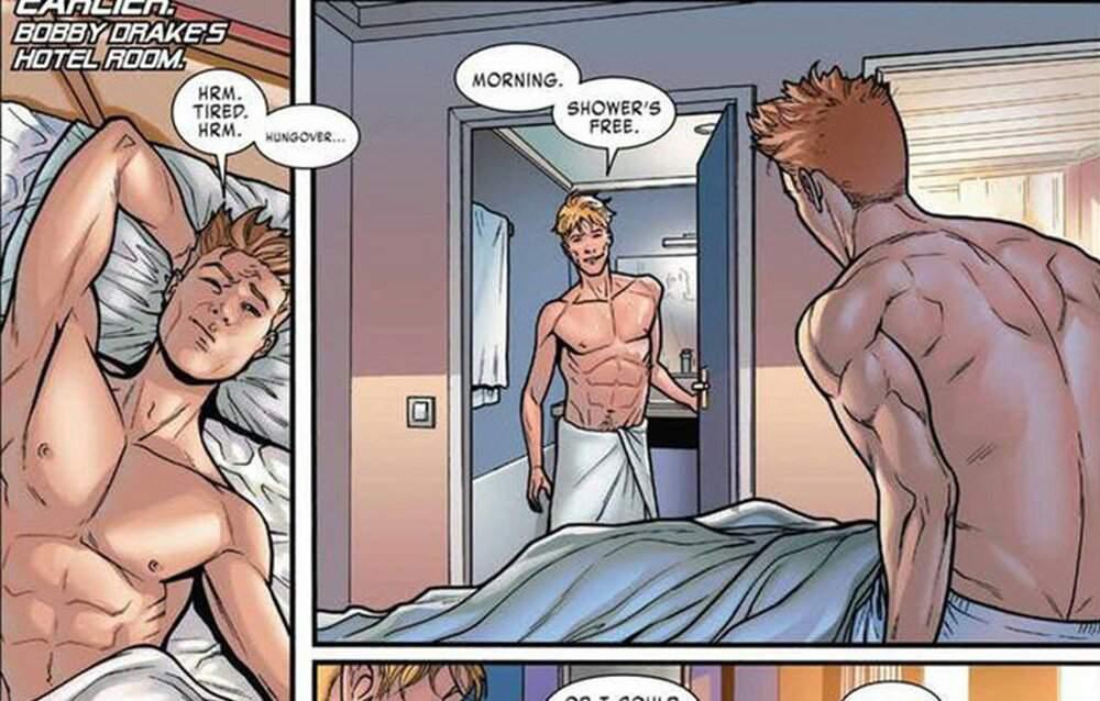 Sexo gay comics