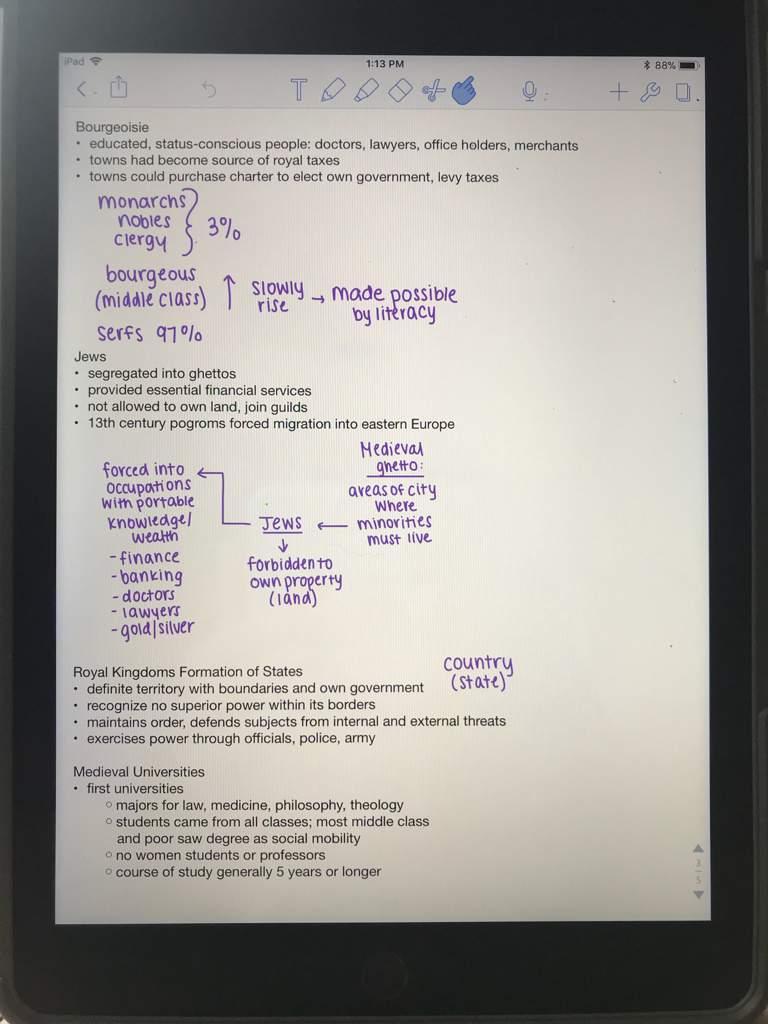 How I Take Notes On My IPad | Studying Amino Amino