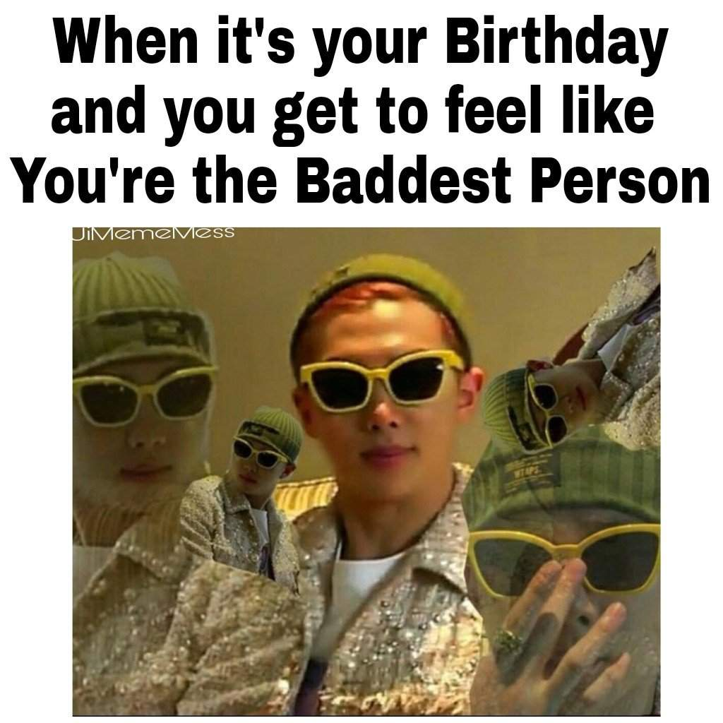 Build A Meme: Namjoon & Birthday
