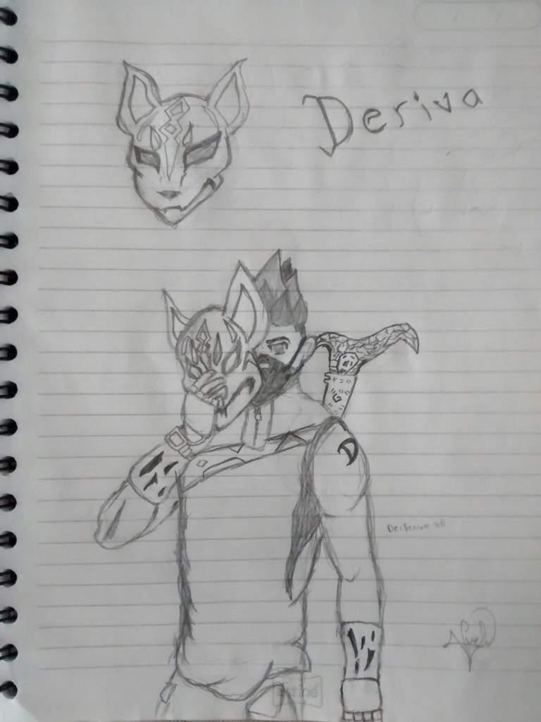 Mi Primer Dibujo De Fortnitederiva Fortnite Español Amino