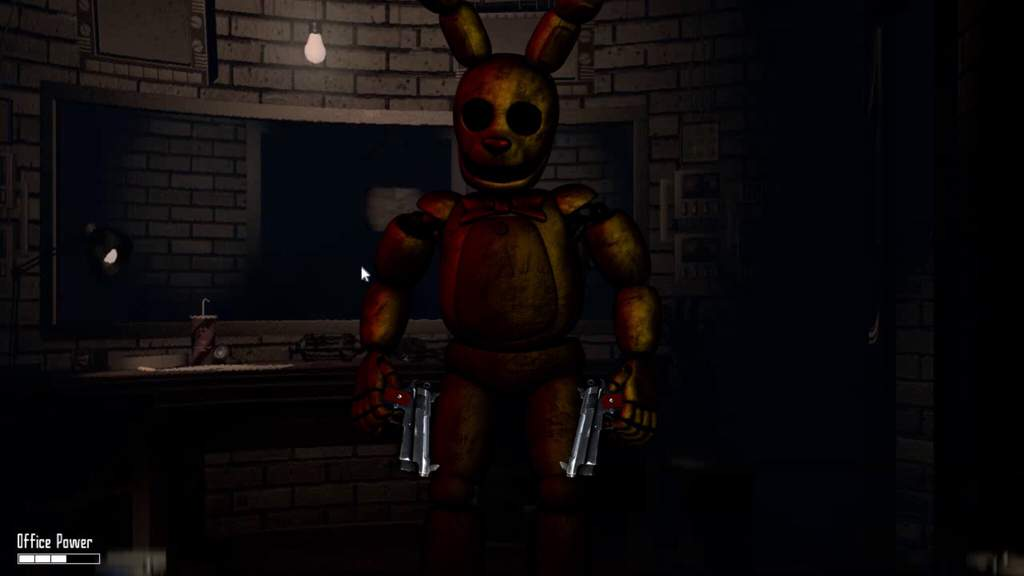Security Springbonnie edit   Five Nights At Freddy's Amino