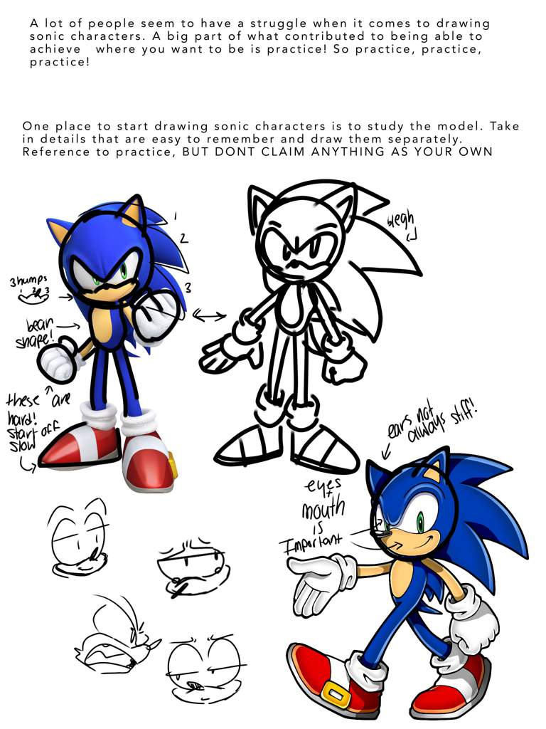 Some Sonic Artist Tips Sonic The Hedgehog Amino