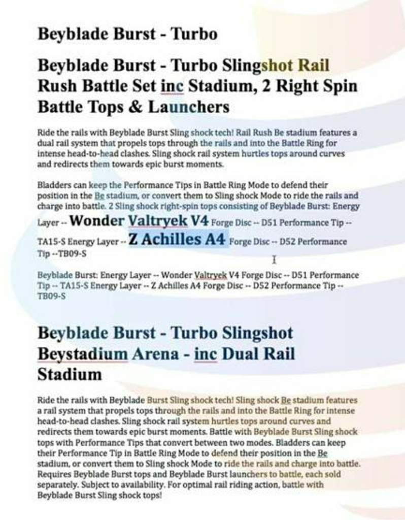 Beyblade Burst Turbo News! (Cho-Z Hasbro) | Beyblade Amino