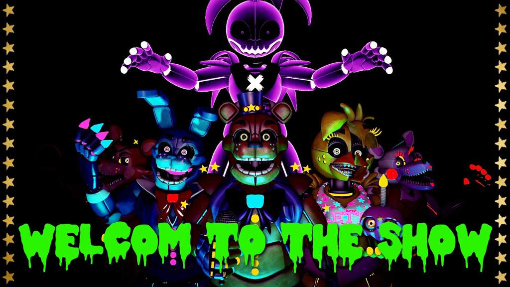 🌟The Advanced Show🌟   Five Nights At Freddy's Amino