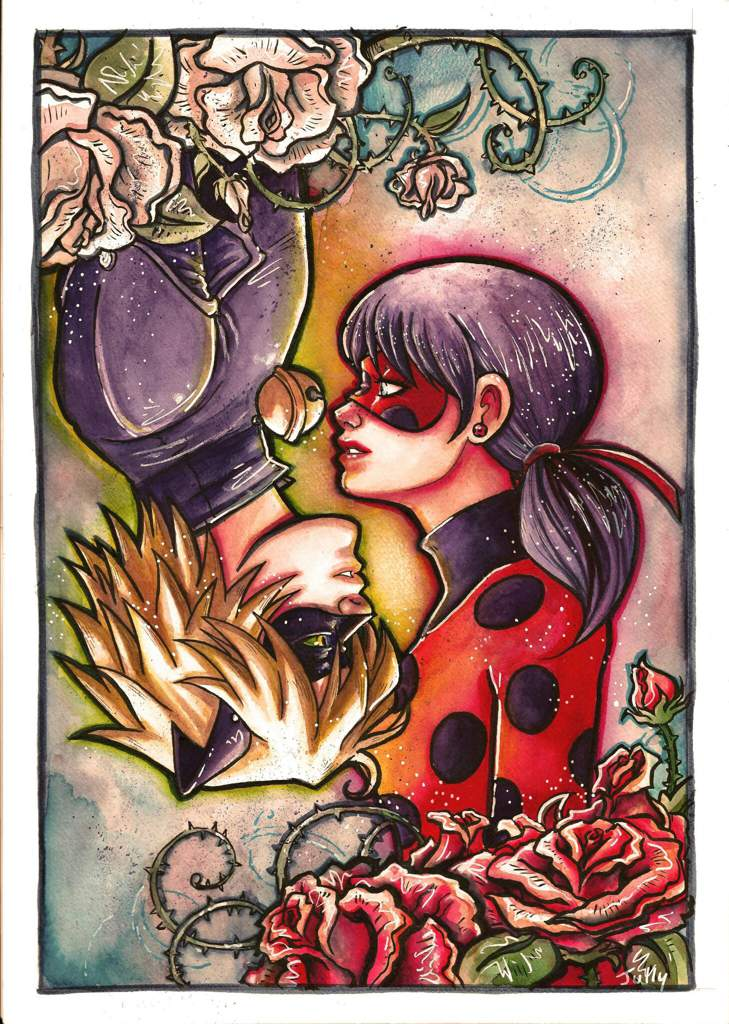 Jully Dessin Ladybug Et Chat Noir Miraculous Ladybug