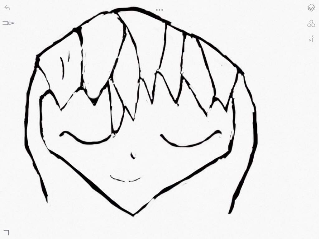 tried a picture of chibi kurapika but it came out pretty bad