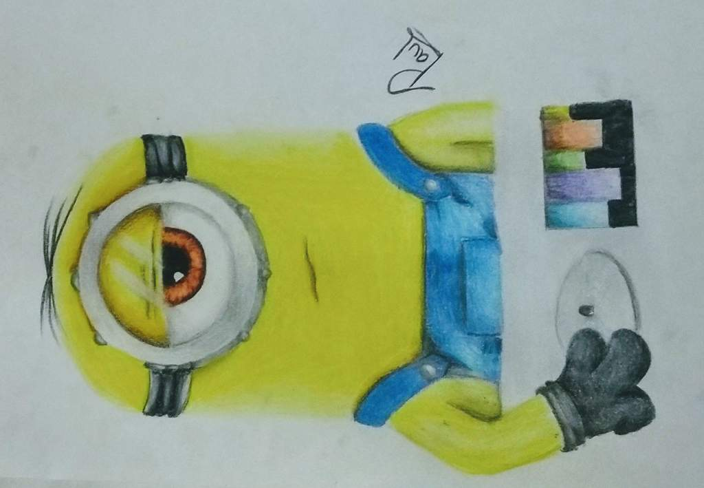 Dibujo A Color De Minion Dj Arte Amino Amino