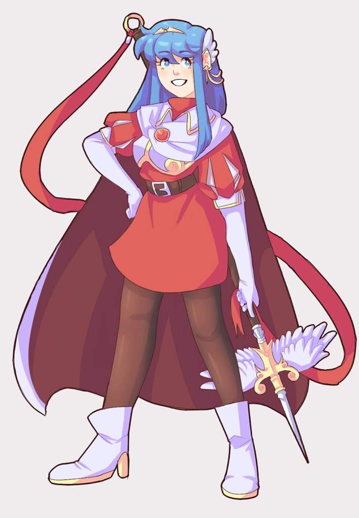 Queen Caeda Fire Emblem Amino